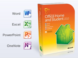 MS Office 2010 for Home & Student
