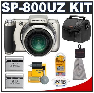 Olympus SP-800UZ with Case + Kit